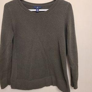 Olive Green Gap Sweater